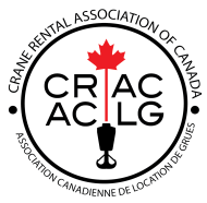 Crane Rental Association of Canada Official Logo