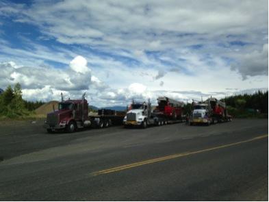all west crane rigging trucks