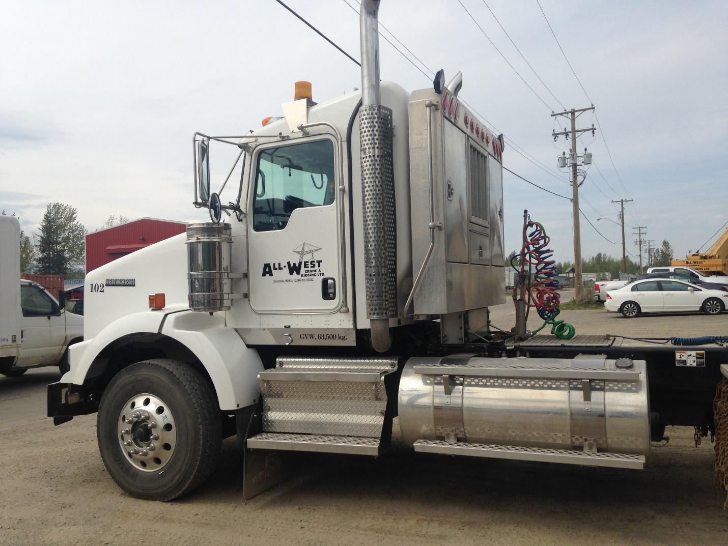 all west crane truck
