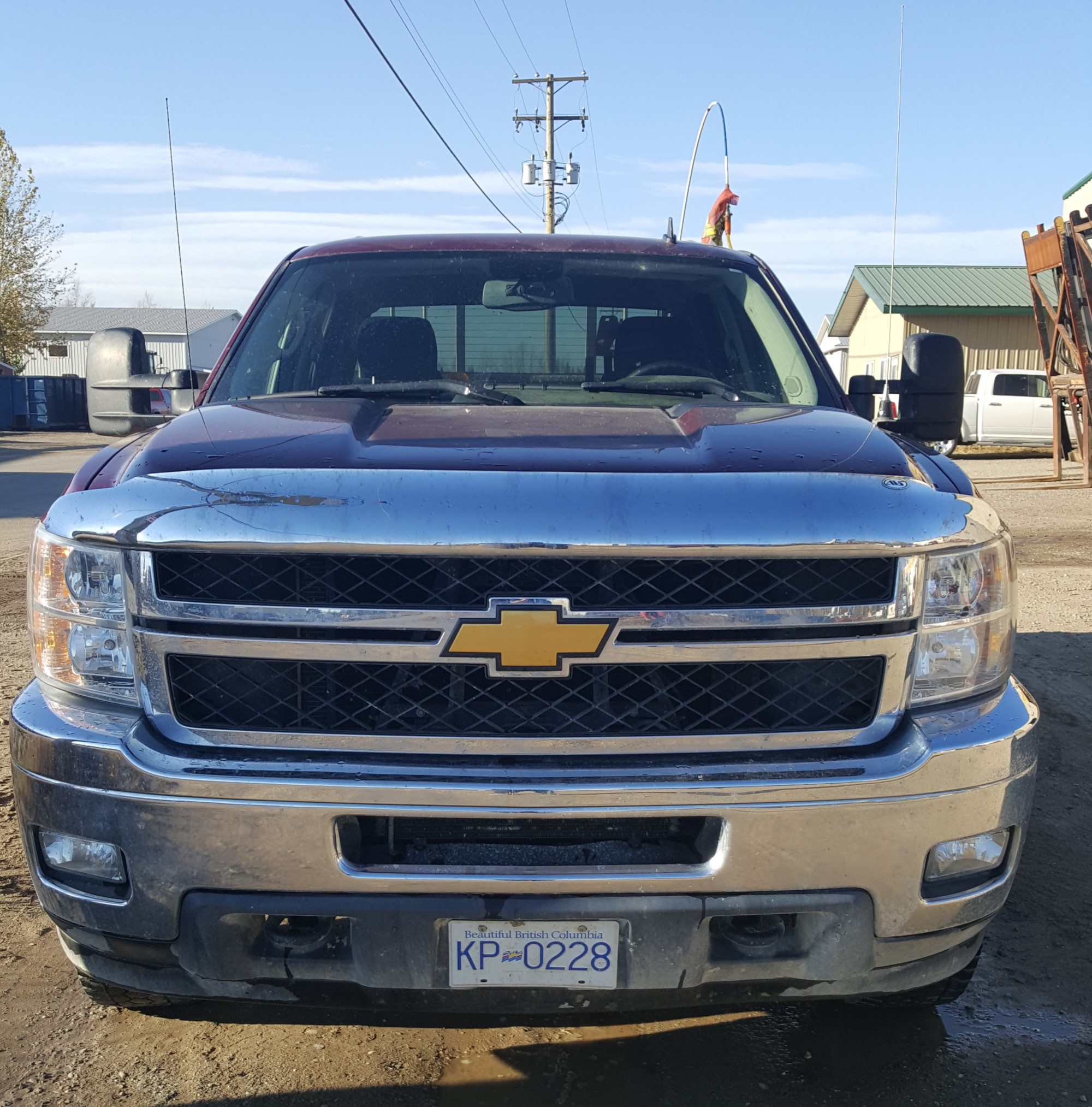 2014 Chevy HD 3500 Crew Cab 4X4