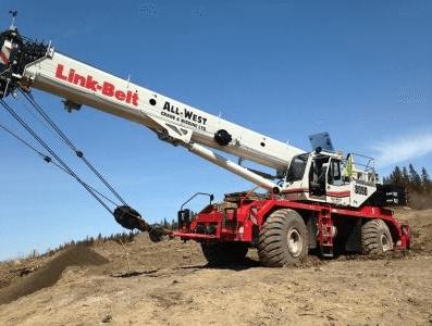 link-belt-crane