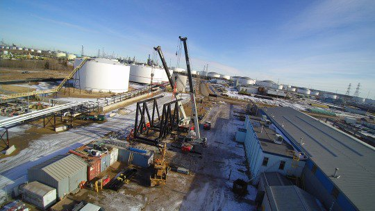 All-West Crane & Rigging at New Edmonton