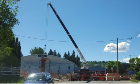 Quesnel Construction Site